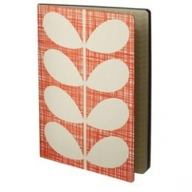Orla Kiely notitieboek B5 Red Stem