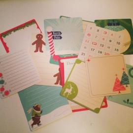 Mini Cards Kerst