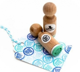 Miss Honeybird Mini Stempel Baby Boy