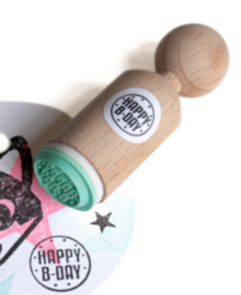 Miss Honeybird Mini Stempel Happy B-day