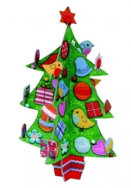 Roger la Borde Kersttafereel Pop & Slot Christmas Tree