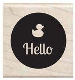 Stempel Hello - eendje