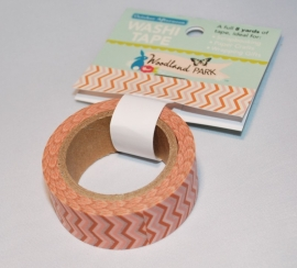 Washi Tape Woodland Park Chevron Roze