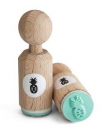 Miss Honeybird Mini Stempel Ananas