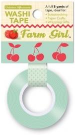 Washi Tape Farm Girl Kersen