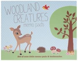 Sticky Memo Set Woodland Animals