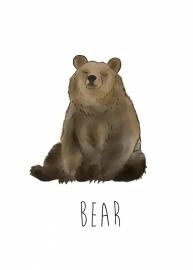Nikki Dotti Ansichtkaart Bear