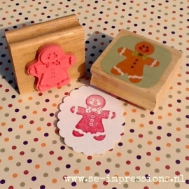 Stempel Gingerbread man