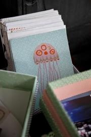 Handgemaakt notitieboek Rie Elise Larsen - Jelly Fish