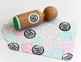 Miss Honeybird Mini Stempel Have a Nice Day