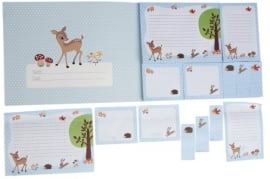 Sticky Memo Set Woodland Animals