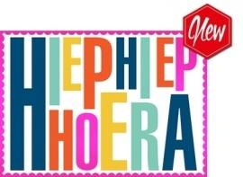 Wenskaart Hiephiep Hoera