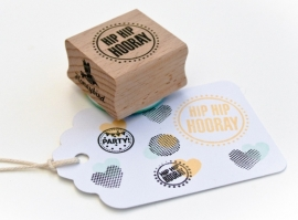 Miss Honeybird Stempel Hip Hip Hooray