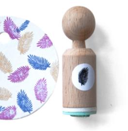 Miss Honeybird Mini Stempel Veertje