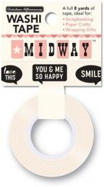 Washi Tape Midway tekstballonnen