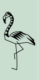 Miss Honeybird Stempel Flamingo