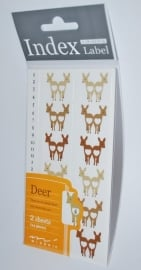 Index Labels Deer