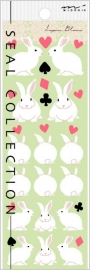 Stickers Lapin Blanc