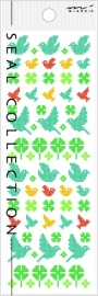 Stickers Cross Stitch Birds