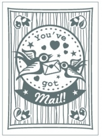 Postcard You`ve Got Mail