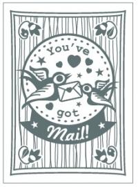 Postcard You`ve Got Mail