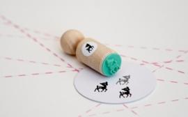 Miss Honeybird Mini Stempel Hertje