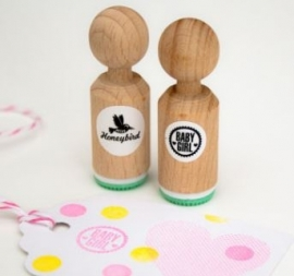 Miss Honeybird Mini Stempel Baby Girl