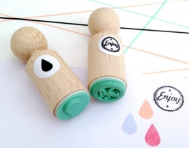 Miss Honeybird Mini Stempel Enjoy