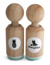 Miss Honeybird Mini Stempel Ananas