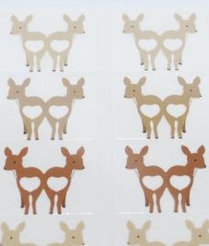 Index Labels Deer