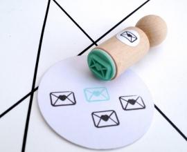 Miss Honeybird Mini Stempel Envelopje