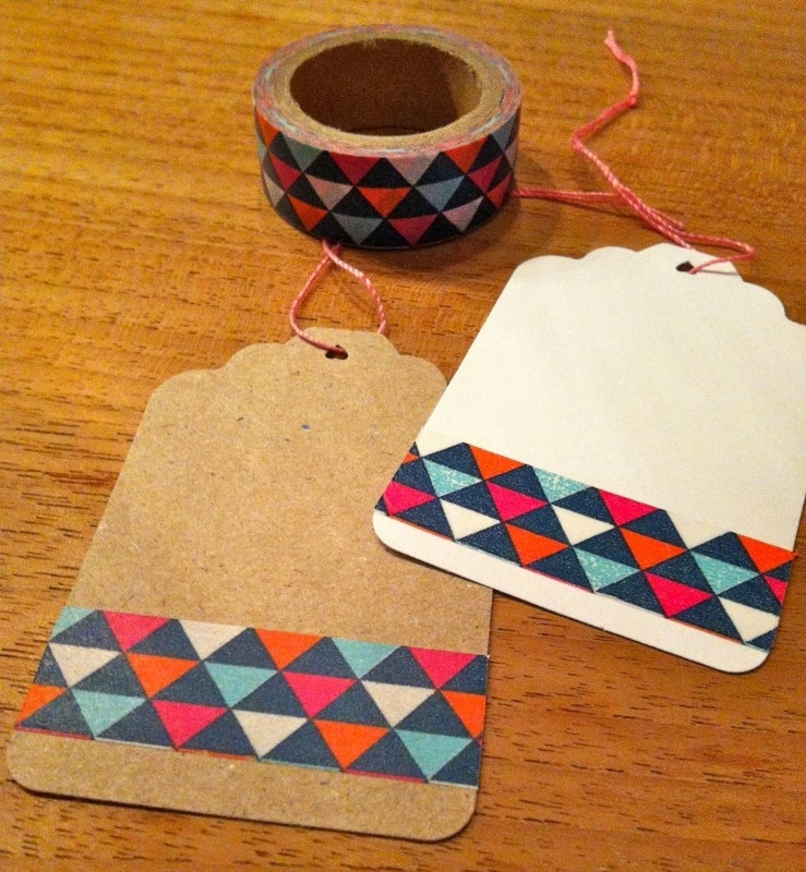 Washi Tape Triangle Multi