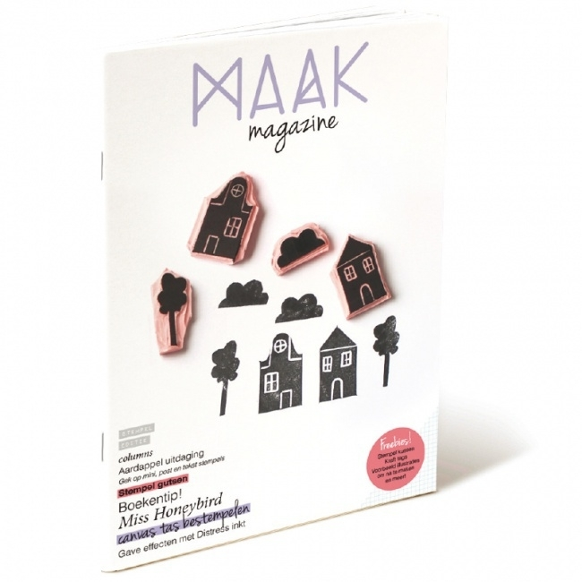 Maak Magazine Stempels
