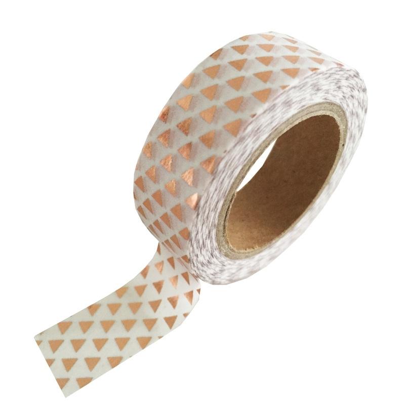 Washi Tape Driehoek van koperfolie