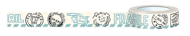 Washi Tape  Air Mail - Travel Girl