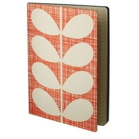 Orla Kiely notitieboek B5 Red Stem