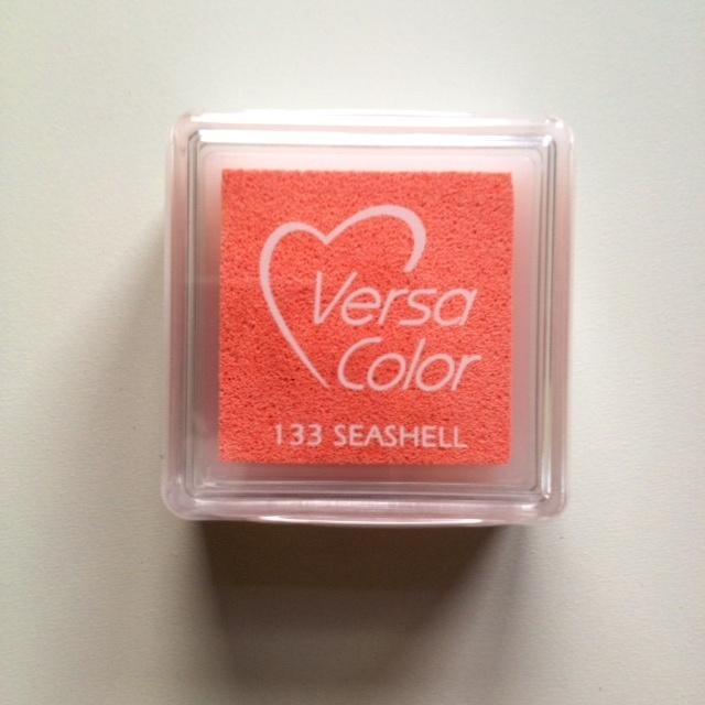 Versa Color Stempelkussen sea shell