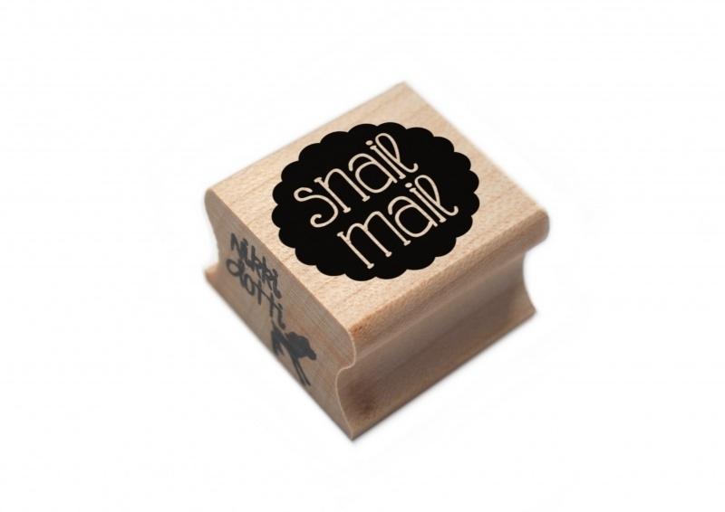Nikki Dotti stempel Snail Mail