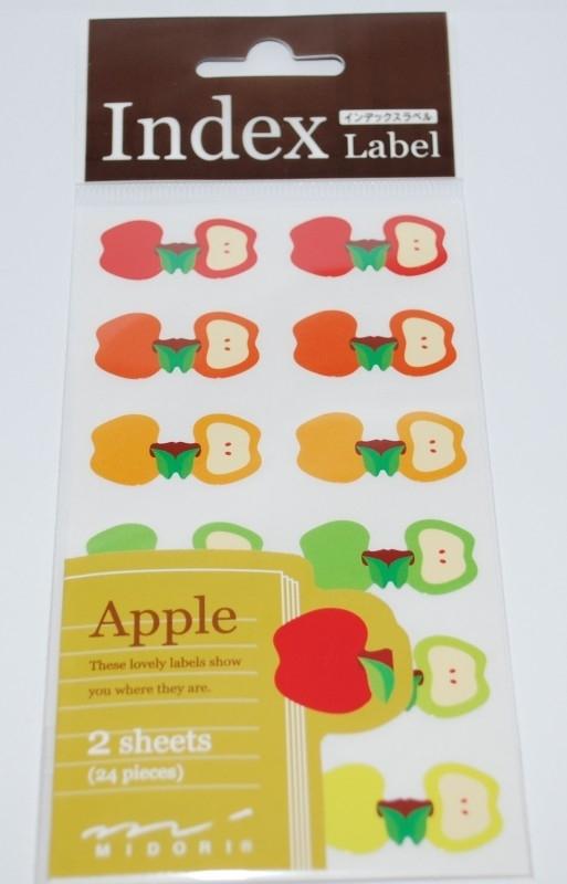 Index Labels Apple