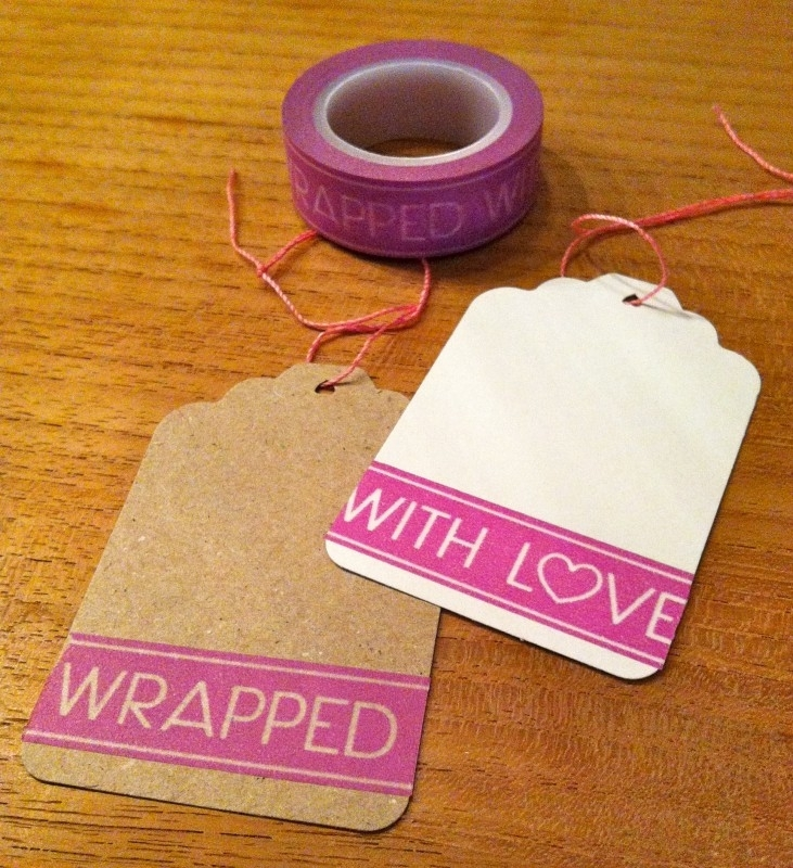 Washi Tape Wrapped with Love