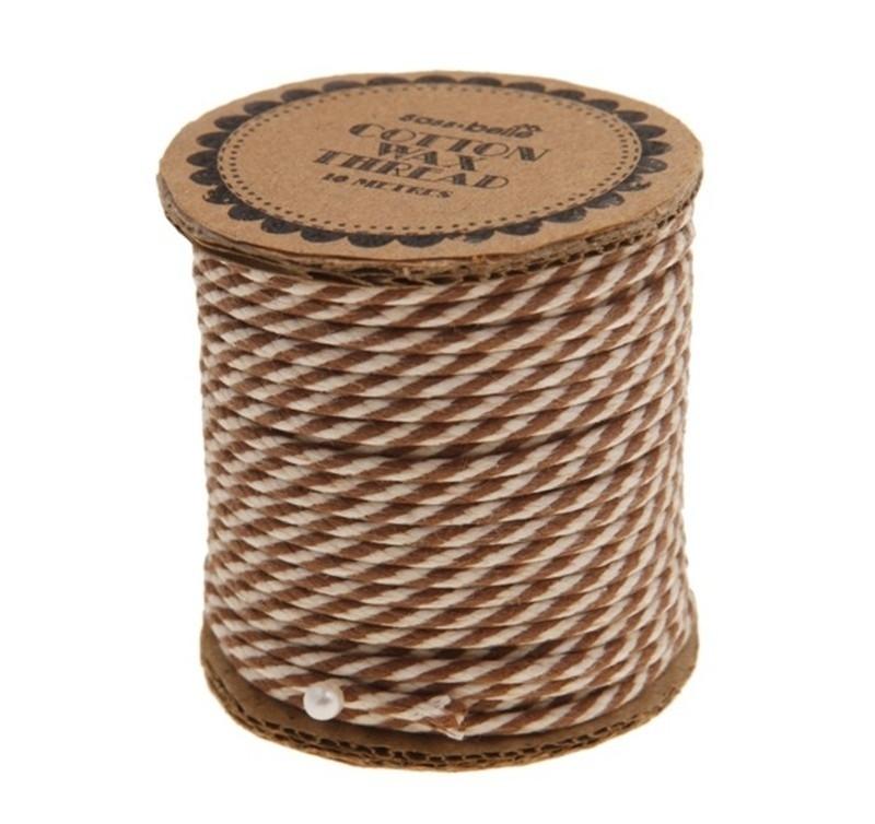 Twisted Wax Cord Bruin