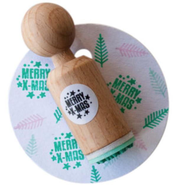 Miss Honeybird Mini Stempel Merry X-mas