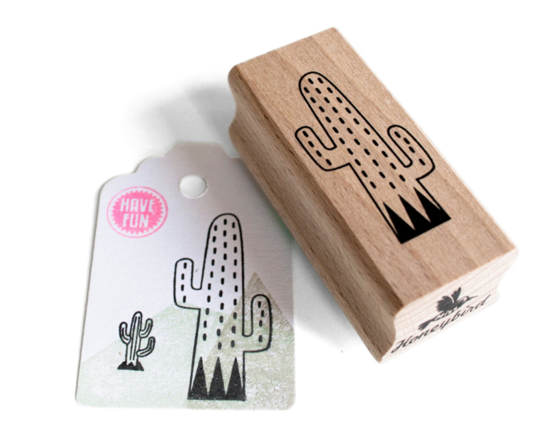 Miss Honeybird Stempel Cactus