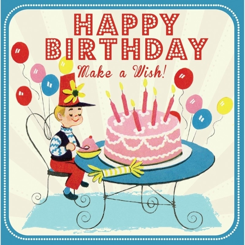 Happy Birthday Make a wish - boy