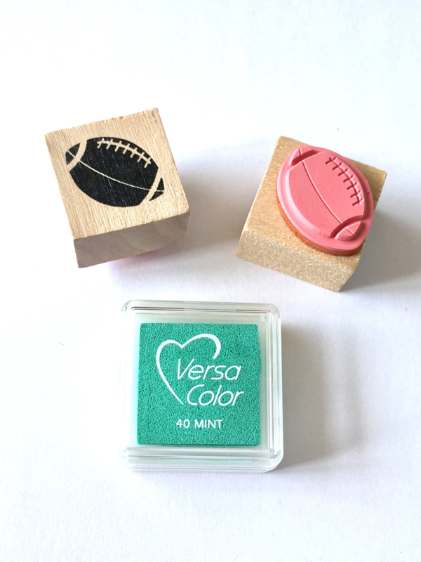 Stempel Rugbybal