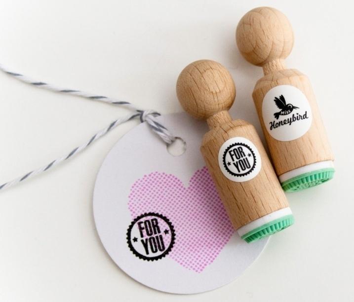 Miss Honeybird Mini Stempel For You