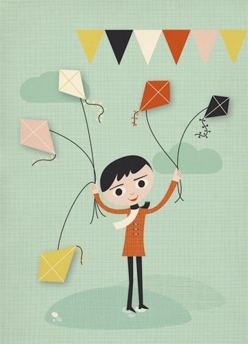 Postcard Vliegeren
