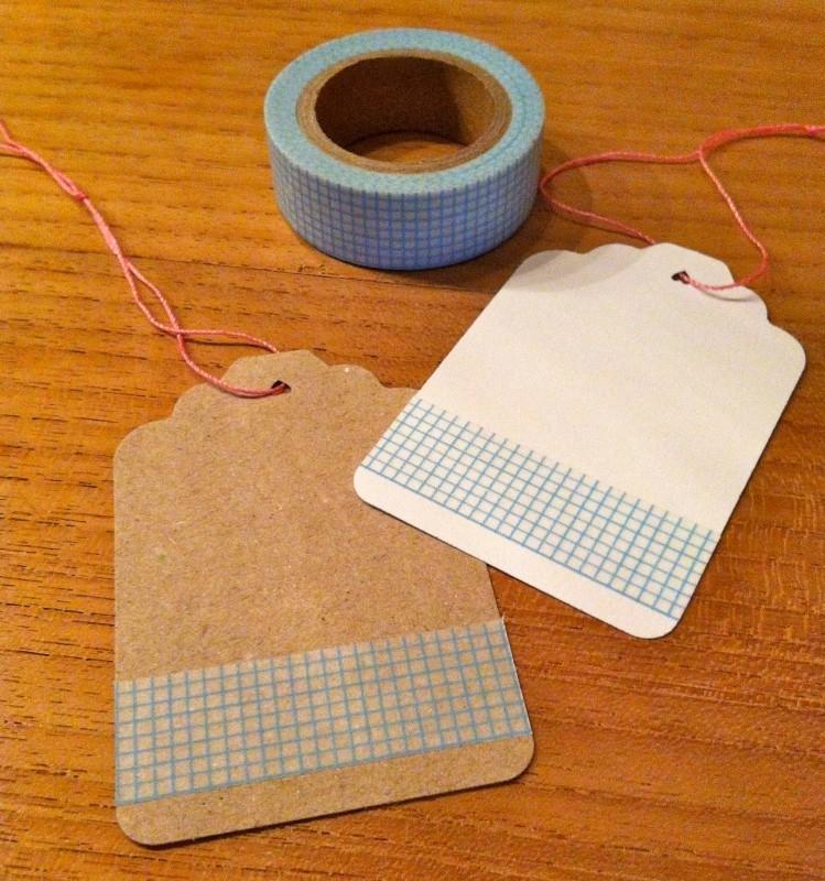 Washi Tape Ruitje Turquoise