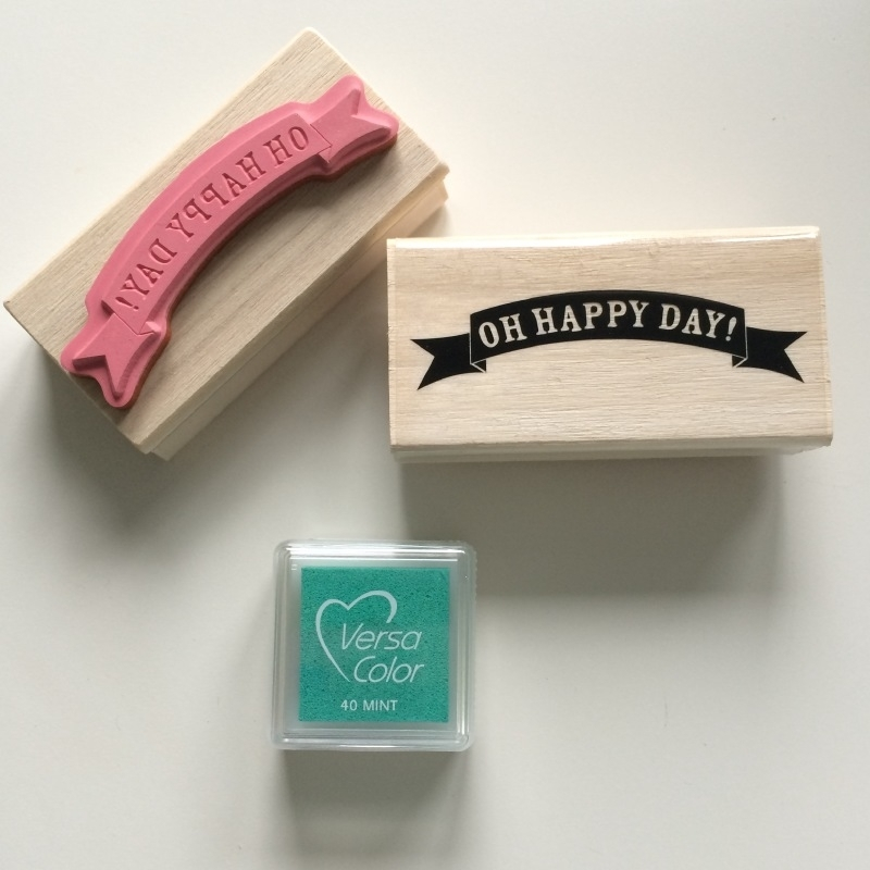 Stempel Oh Happy Day!