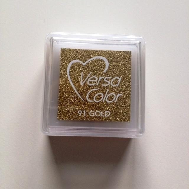 Versa Color Stempelkussen goud